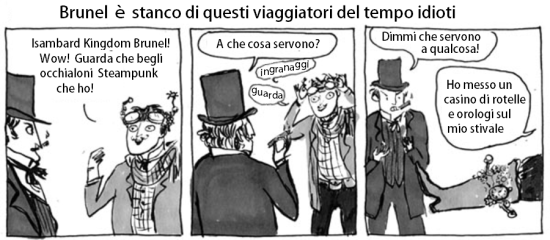 Striscia di Kate Beaton.
