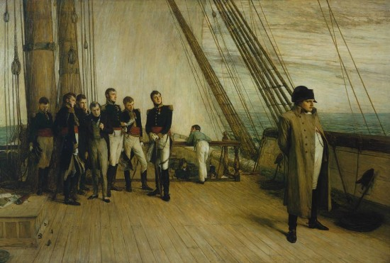 Napoleon on Board the Bellerophon exhibited 1880 Sir William Quiller Orchardson 1832-1910 Presented by the Trustees of the Chantrey Bequest 1880 http://www.tate.org.uk/art/work/N01601